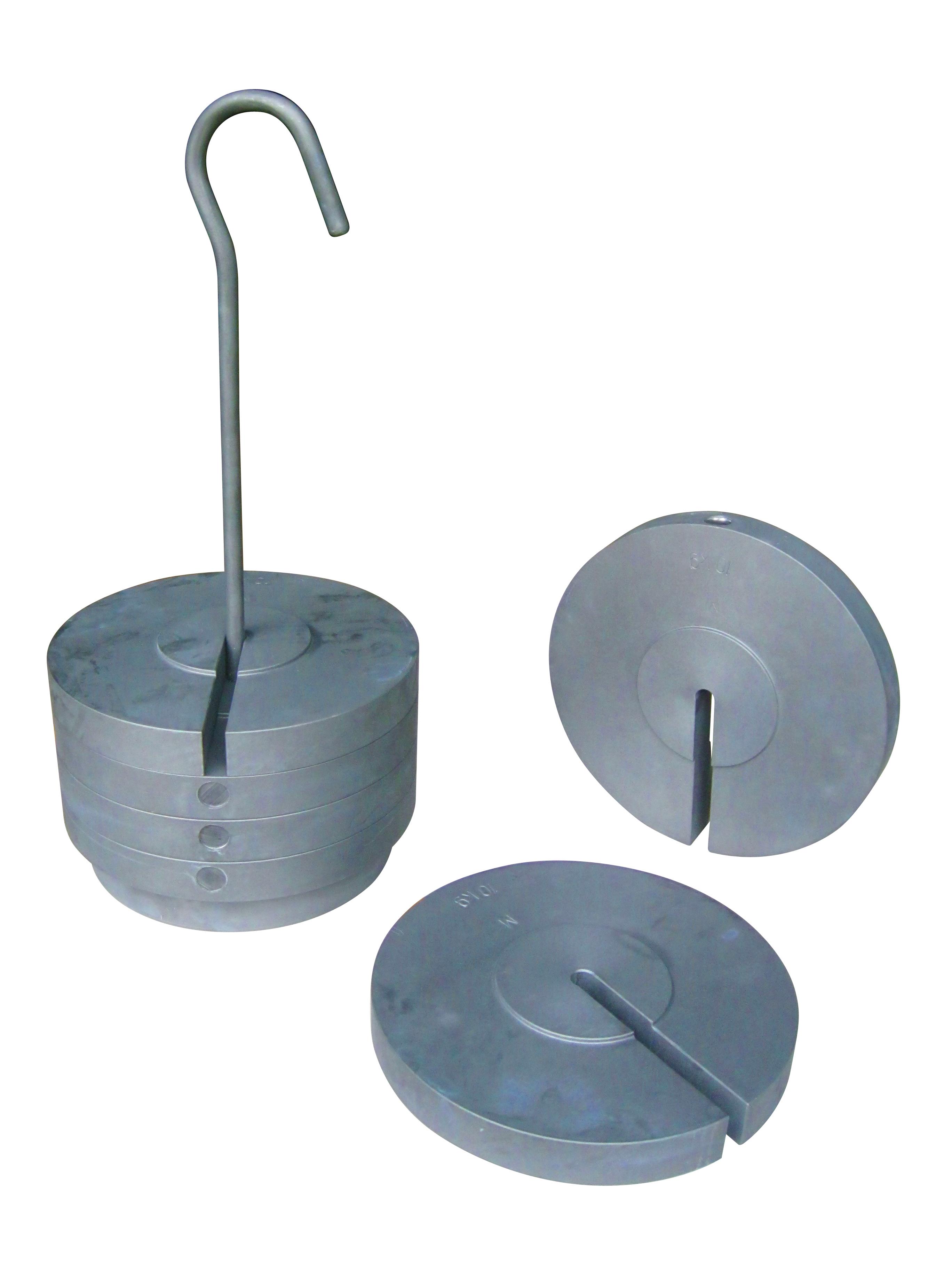 Pesi a disco con asta porta pesi da 1 kg a 20 kg - Partenza da calata porta di massa ...